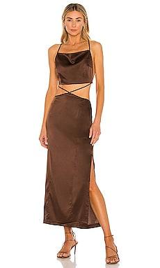 X REVOLVE Serpentine Dress Hansen + Gretel $299 BEST SELLER