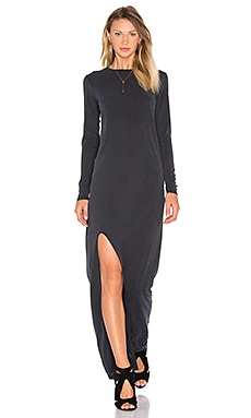 HELFRICH Parker Maxi Dress in Black