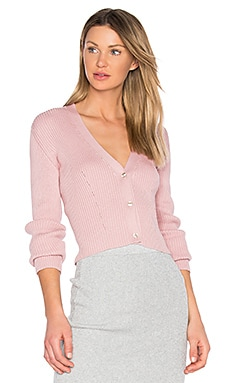 Jordan Cardigan in Pale Pink