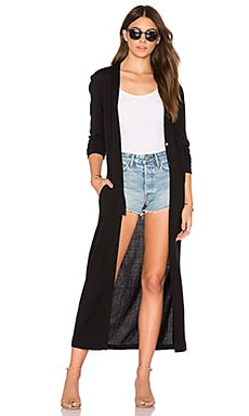 Jimmy Duster Cardigan in Black