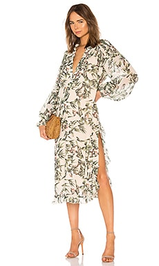 Street Sweeper Dress in Flower HAH $244
