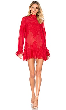 Queen For A Day Dress in Rouge Red