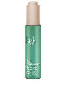 High Expectations Cannabis Facial Oil high beauty $54