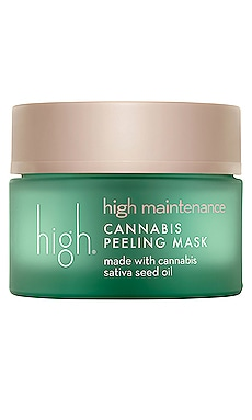 High Maintenance Cannabis Peeling Mask high beauty $46