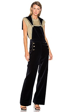 Velvet Marine Jumpsuit