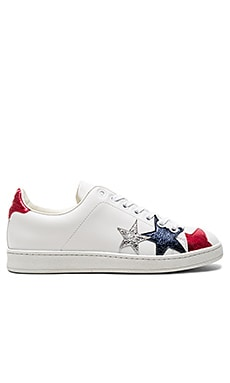Stars Classic Sneaker in Snow White & Multi