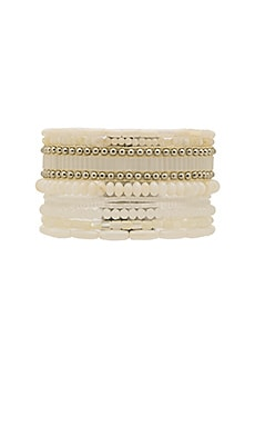 Allegra Bracelet in White