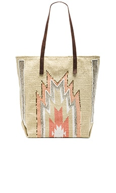 HiPANEMA x AMENAPiH Peruano Tote in White