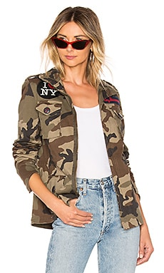 I Love NY Patch Jacket HISTORY REPEATS $258