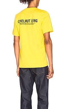 Taxi Project New York Tee Helmut Lang $175