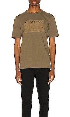 Patch Tee Helmut Lang $123