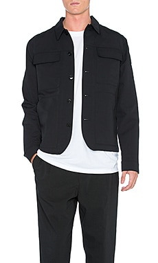 Helmut Lang Patch Pocket Jacket in Black