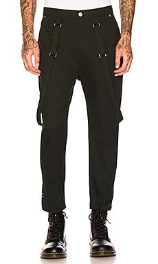 Crop Suspender Trousers