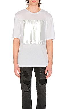 Box fit film print tee - Helmut Lang