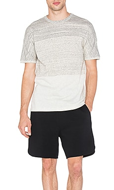 Helmut Lang Uni Sleeve Tee in Sand Heather
