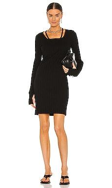 Finest Rib Dress Helmut Lang $203