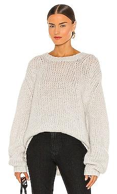 Alpaca Brushed Sweater Helmut Lang $365