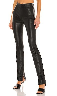Slit Leather Pant Helmut Lang $995 Collections