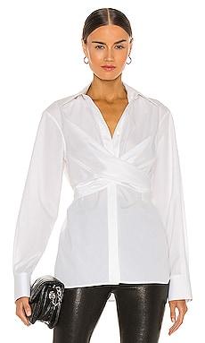 Poplin Wrap Shirt Helmut Lang $395