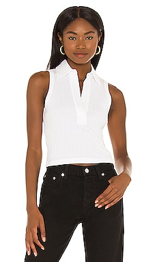 Cropped Polo Helmut Lang $150