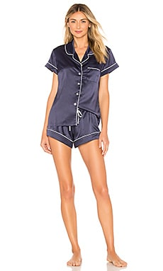 ENSEMBLE PYJAMA SHORT PIPING homebodii $90 BEST SELLER