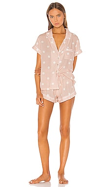 Polka Dot Short PJ Set homebodii $90 NEW ARRIVAL