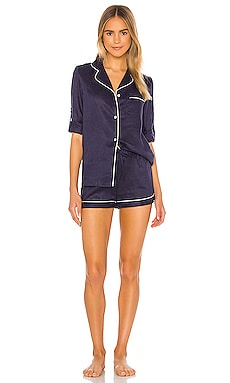 Linen Long Sleeve PJ Set homebodii $130