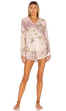 Nightfall Long Sleeve Short PJ Set homebodii $58