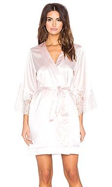 homebodii Lola Kimono Robe in Blush