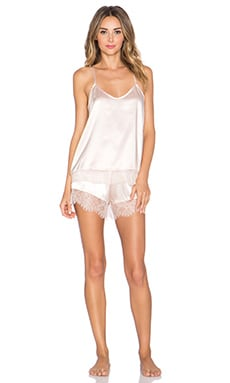 homebodii Eloise Cami & Short Set in Light Pink