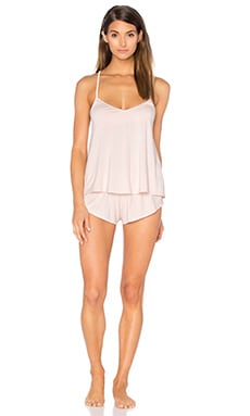homebodii Abigail Cami Set in Blush