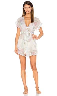homebodii Sophia Flutter Robe in Floral