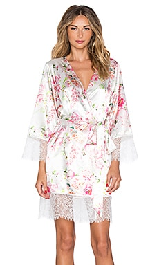 homebodii Liv Floral Robe in Floral