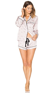Butterfly Bloom PJ Set in Mauve