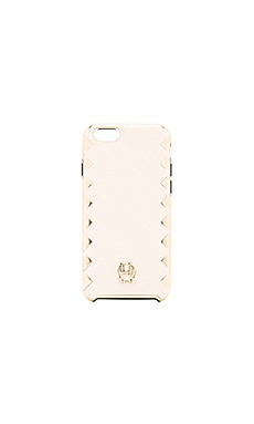 House of Harlow 1960 Dual Layer iPhone 6 Case in Camel & Gold Metallic