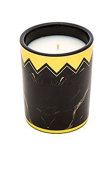 House of Harlow Saint James Candle en Noir & Doré