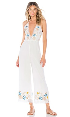 x REVOLVE Monet Jumpsuit House of Harlow 1960 $54