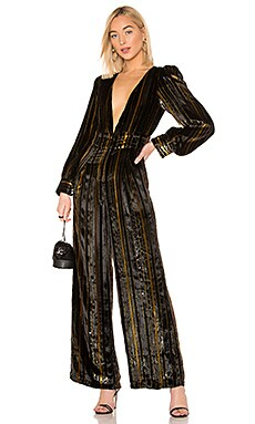 x REVOLVE Charo Silk Jumpsuit House of Harlow 1960 $348 NEW ARRIVAL