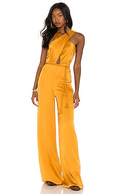 x REVOLVE Jayan Jumpsuit House of Harlow 1960 $268 NEW