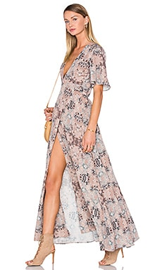 House of Harlow 1960 x REVOLVE Blaire Wrap Maxi Mosaic in Kaleidoscope