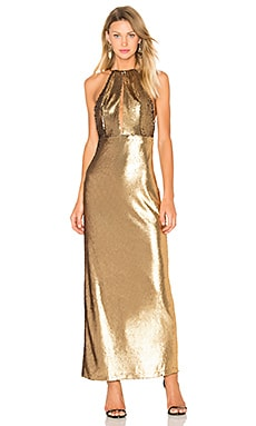 x REVOLVE Ali Sequin Maxi in Gold