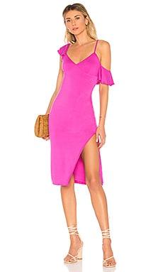 Купить Обтягивающее платье claire - House of Harlow 1960 цвета фуксия