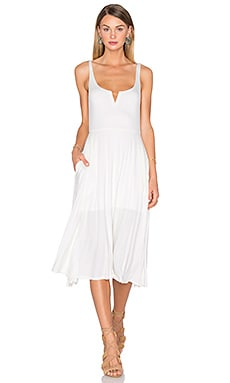 x REVOLVE Elle Tank Dress in Ivory