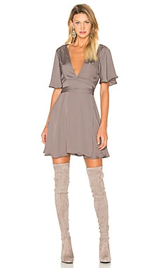 House of Harlow 1960 x REVOLVE Harper Wrap Dress in Ash