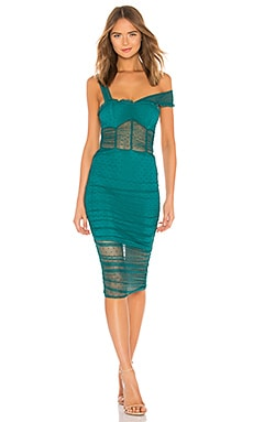 ПЛАТЬЕ МИДИ NOLA House of Harlow 1960 $188