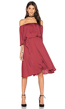 x REVOLVE Cindy Dress in Vino