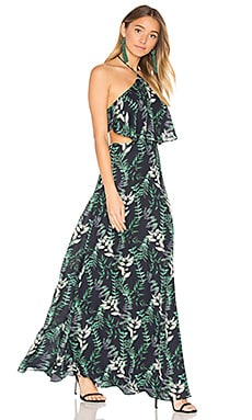 x REVOLVE Zoe Maxi in Falling Leaves