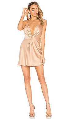 x REVOLVE Sharon Dress in Camel