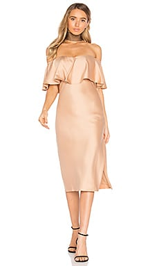 x REVOLVE Newton Dress in Camel