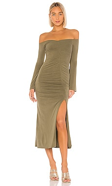 X REVOLVE Maccoy Midi Dress House of Harlow 1960 $228